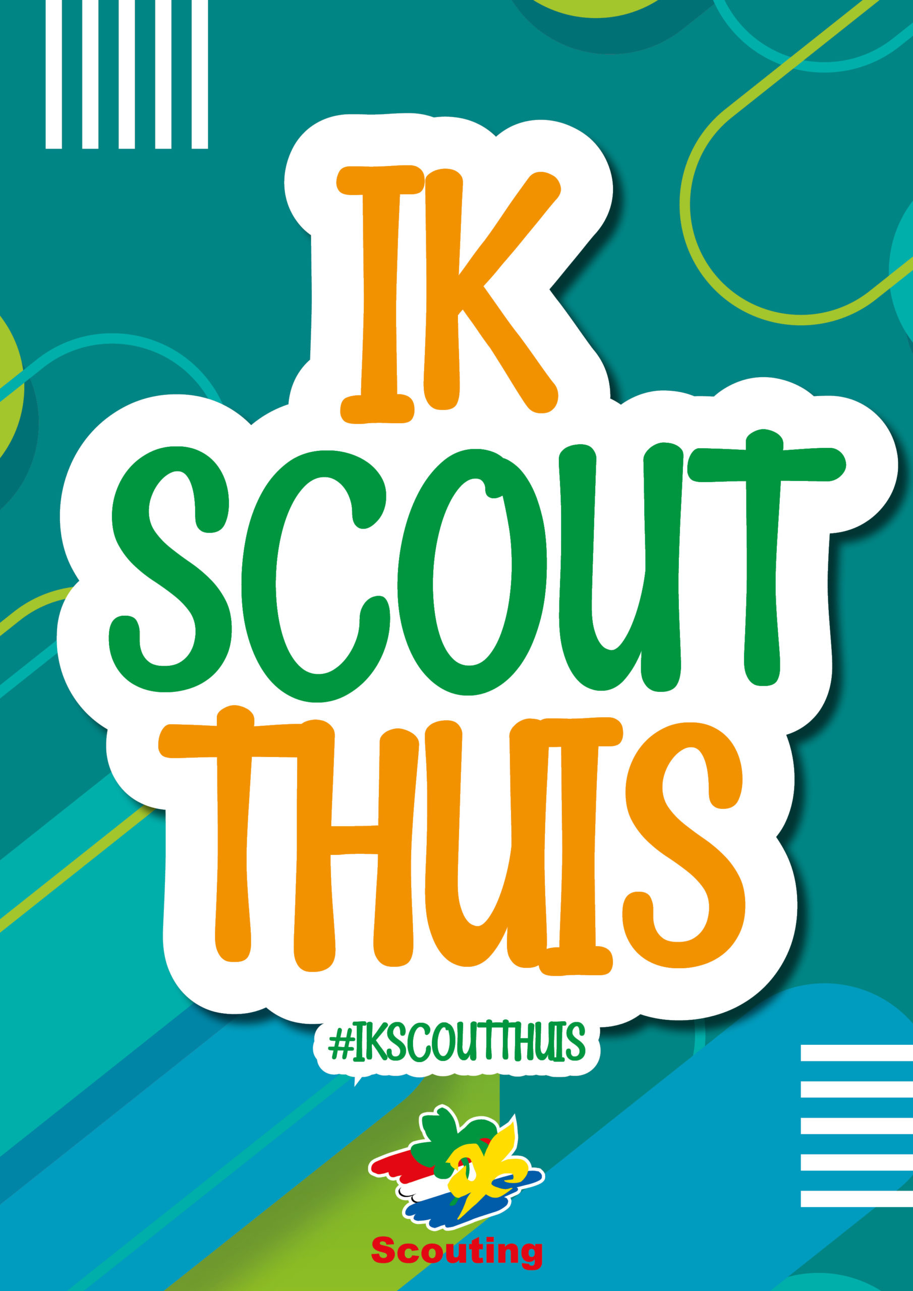 #ikscoutthuis poster